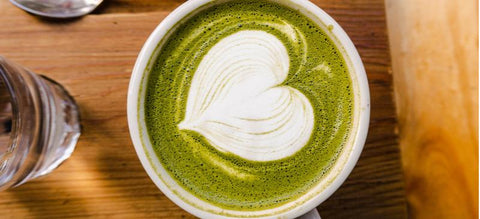 Green Tea Matcha Latte Recipe (with Collagen)