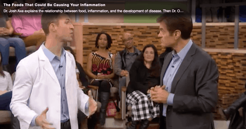 Dr Axe on Doctor Oz 1