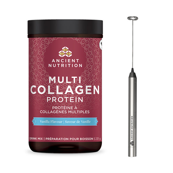 Collagen Starter Kit (Collagen Choice + Frother)