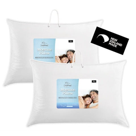 Moemoe Feather & Down Pillow, PAIR