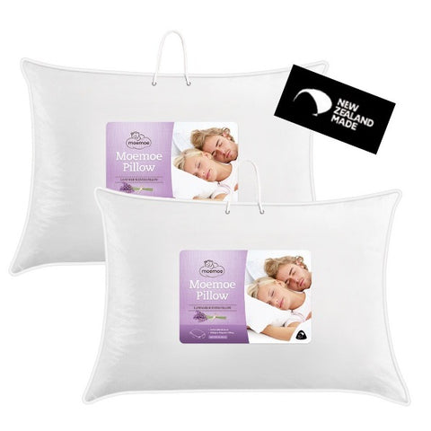 Moemoe Lavender Scented Pillow, PAIR