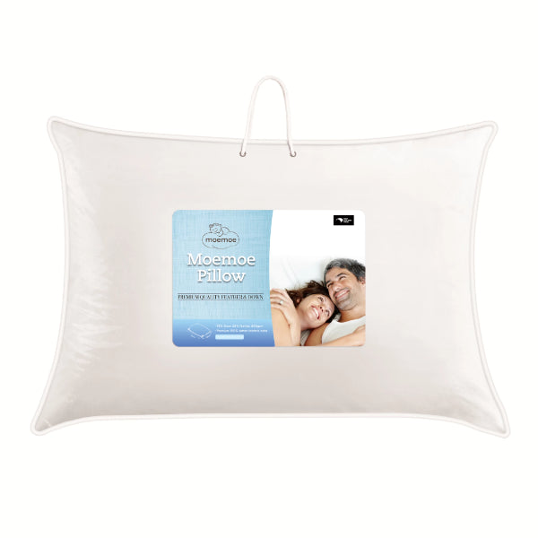 Moemoe Feather & Down Pillow