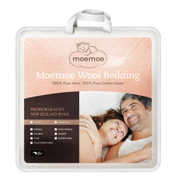 Moemoe Wool Mattress Topper