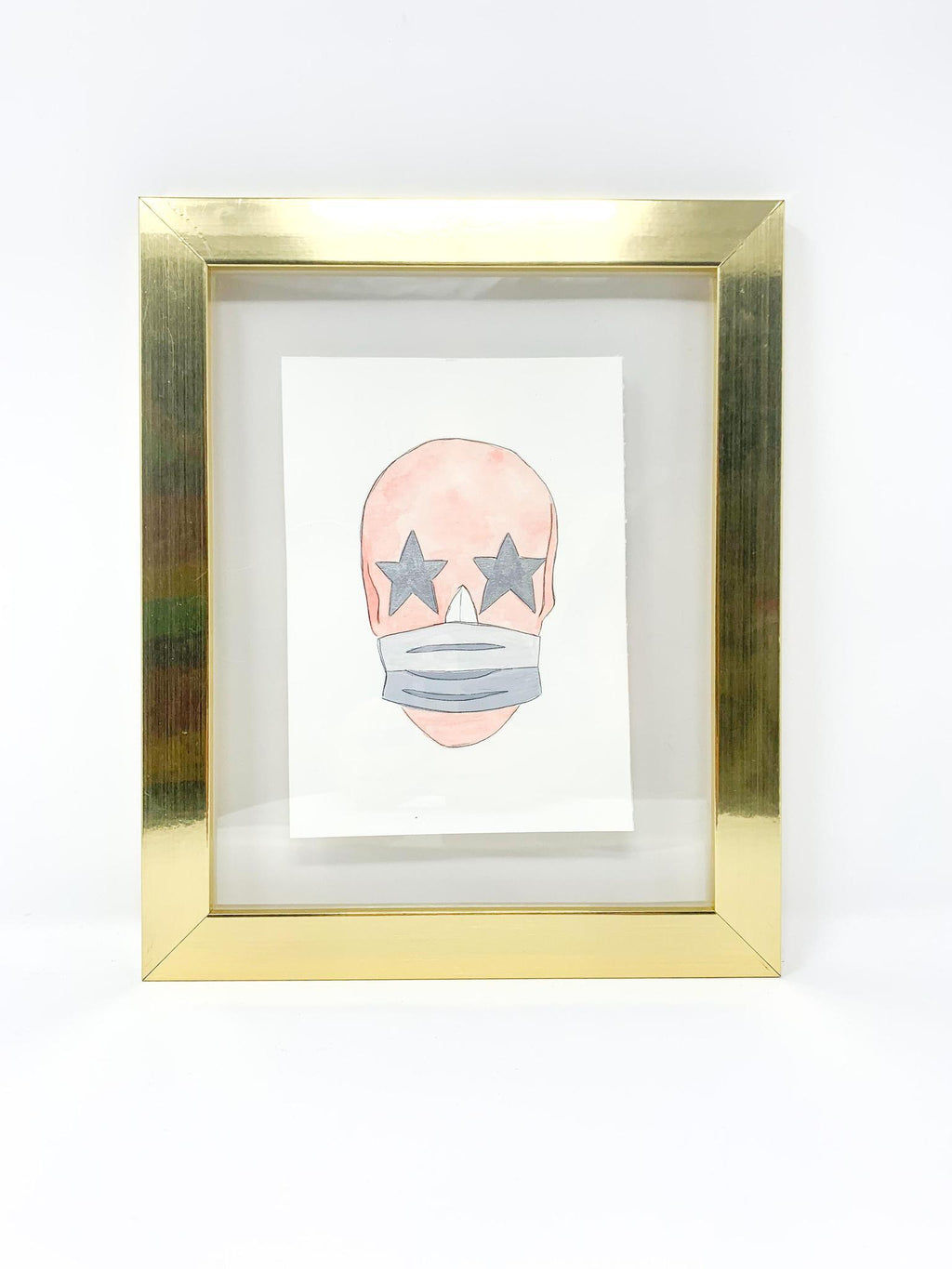 SKULL W/MASK - GIGI ART