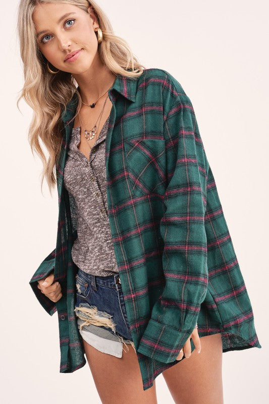 The Fireside Flannel, Hunter