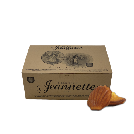 Madeleines nature - JEANNETTE