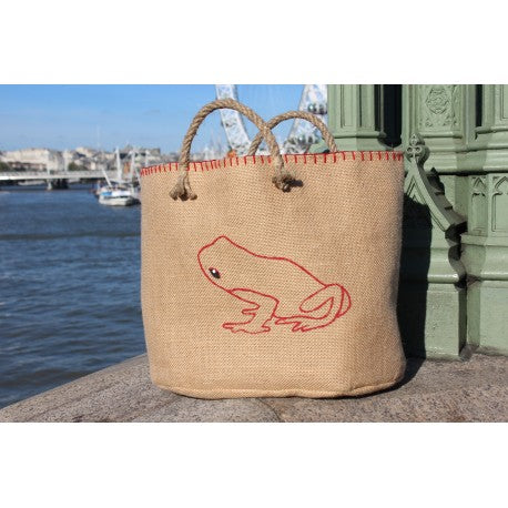 Sac Cabas Grenouille Rouge - GRENOUILLE ROUGE