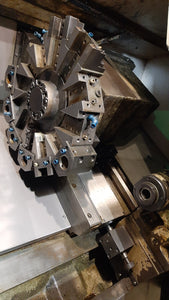 "DAEWOO Puma 200C CNC Turning Center Lathe w/ 8"" Chuck 2.5"" Bar Cap. Fanuc Ctrl."
