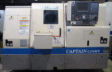 Load image into Gallery viewer, OKUMA Captain-L370MW Big Bore CNC Lathe w/ Live Tooling & Sub-Spindle