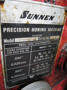 SUNNEN LBB-1810 Power Stroker Hone - Automotive Honing Machine