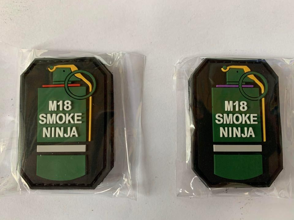 M18 Smoke Ninja Velcro Patch - Command Elite Hobbies