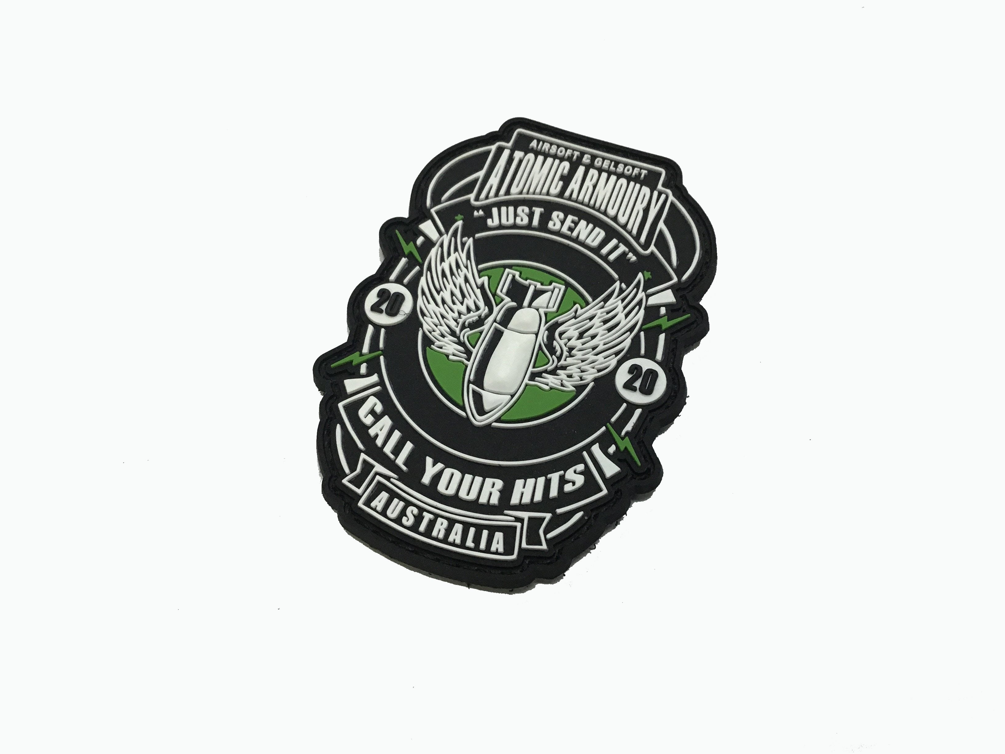 Atomic Armoury Send It Velcro Patch - Command Elite Hobbies