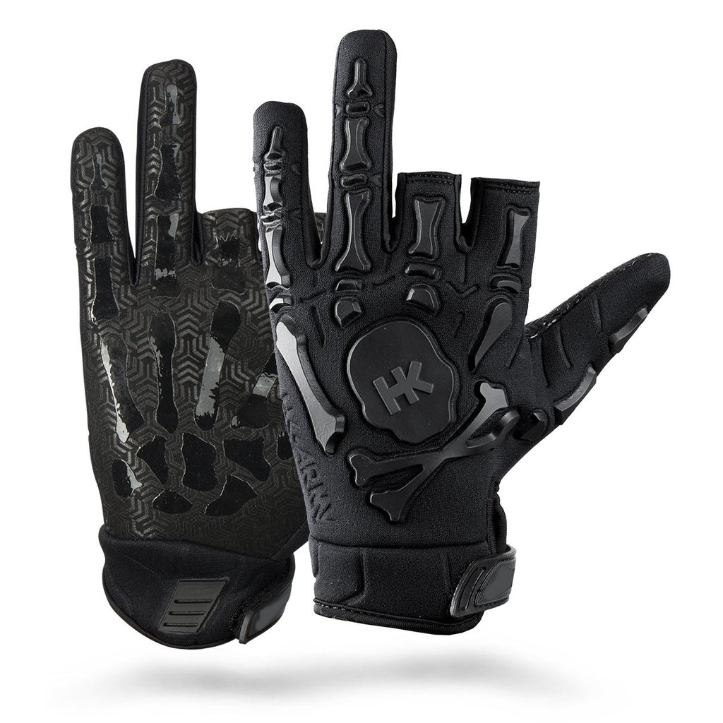 HK ARMY Bones Gloves - black - Command Elite Hobbies