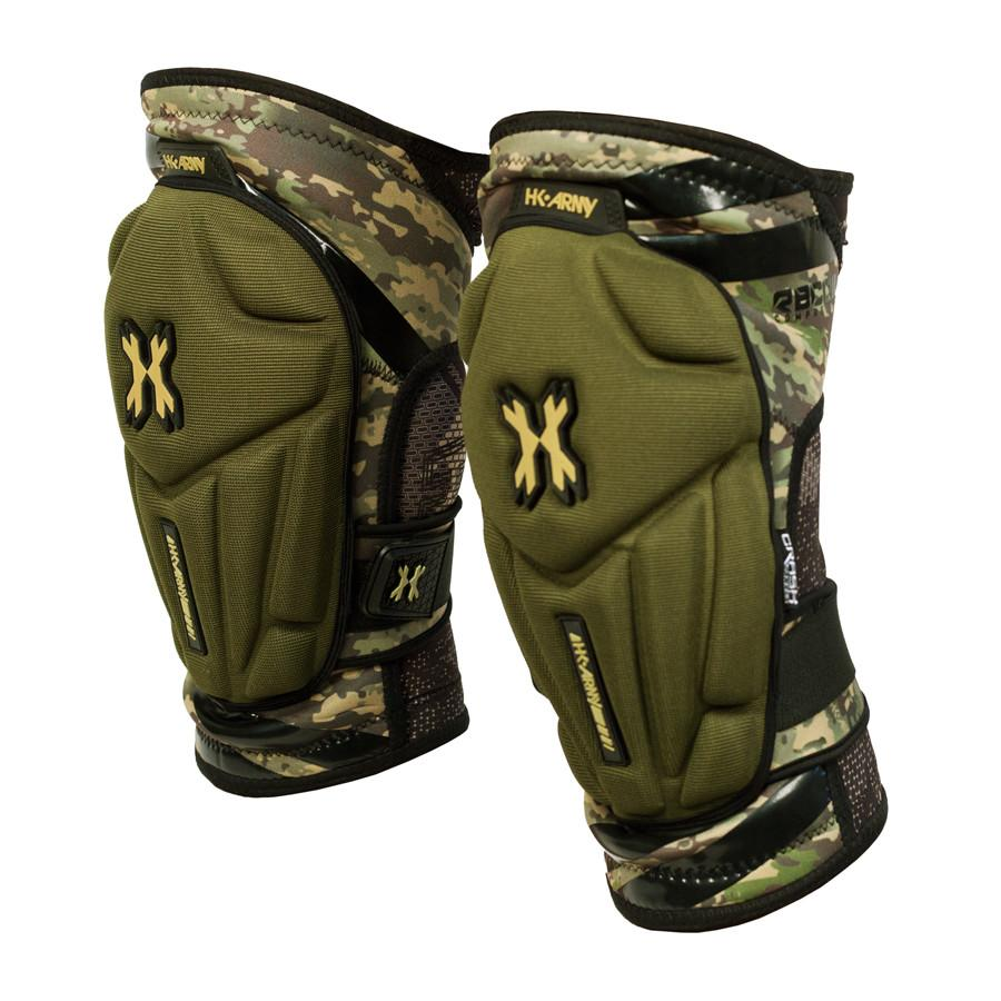 HK ARMY Crash Knee Pad - Camo - Command Elite Hobbies