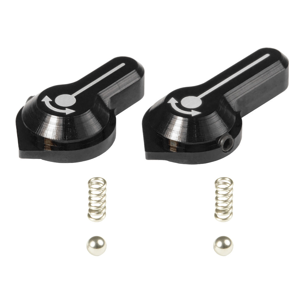 Maxx CNC Aluminum Low Profile Selector Lever (Style A) - Command Elite Hobbies