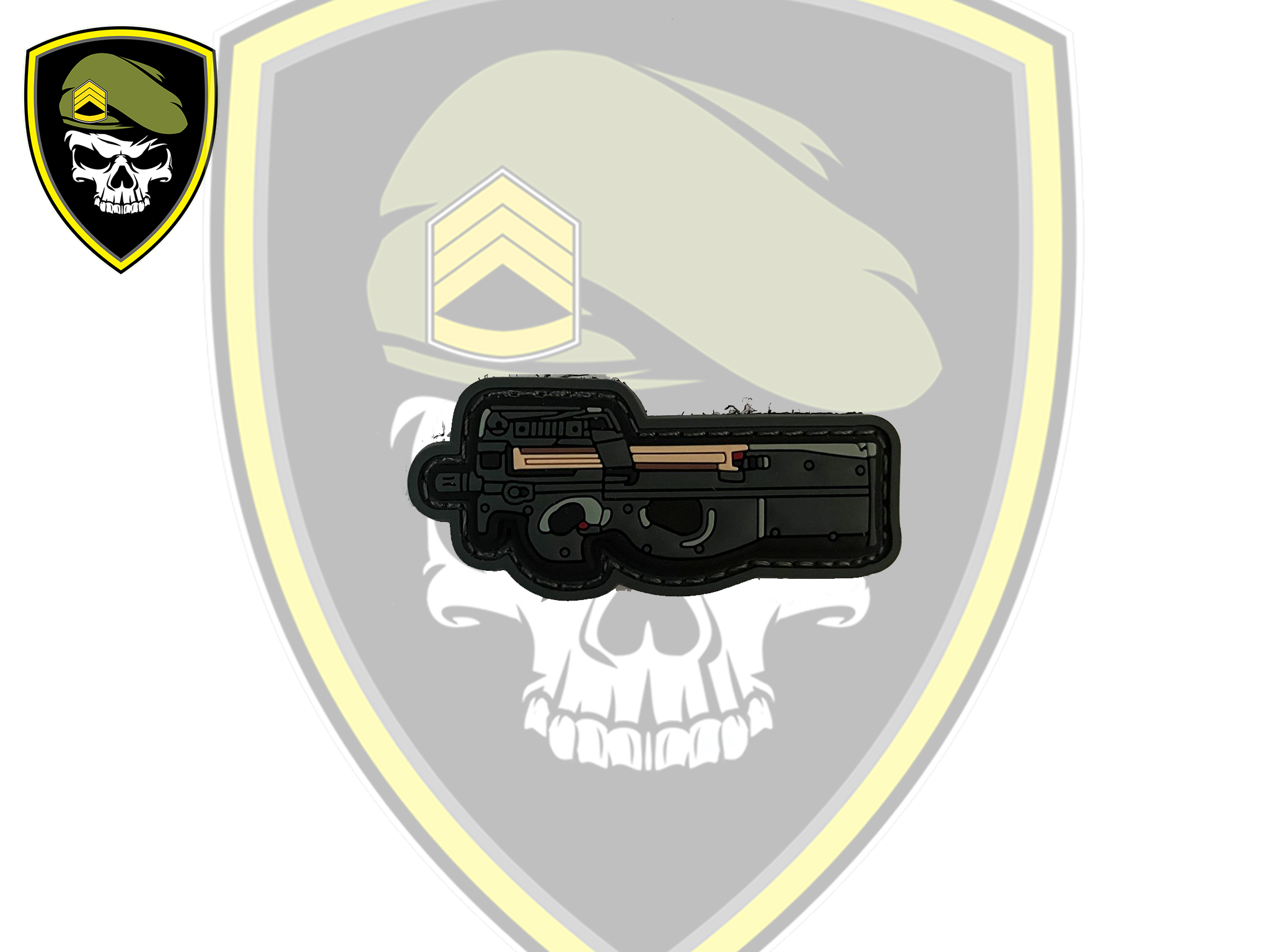 P90 Velcro Patch - Command Elite Hobbies