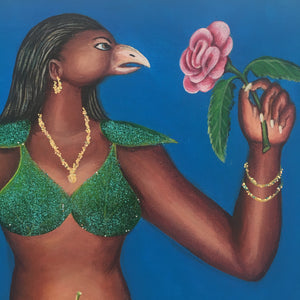 Pierre BODO - Bird woman