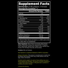 supplement facts protein coffee co