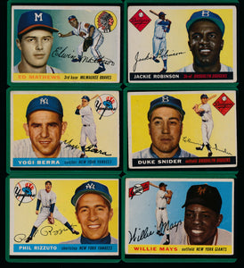 1955 Topps Baseball Complete Set Group Break