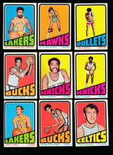 Load image into Gallery viewer, 1972 Topps Basketball Complete Set Group Break