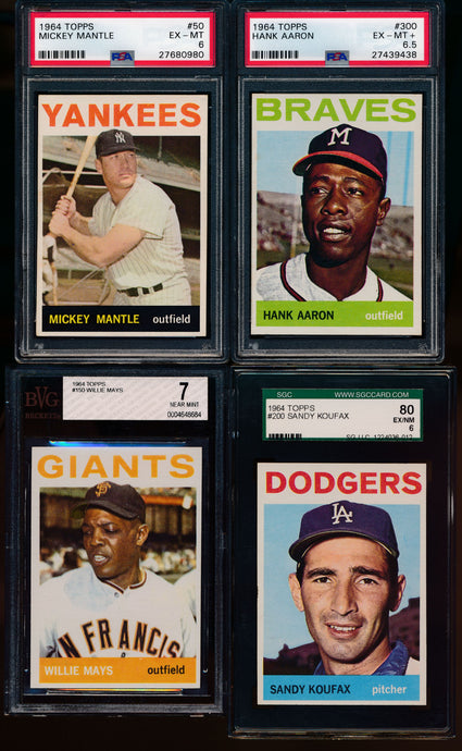 1964 Topps Complete Set Group Break