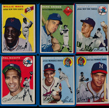 Load image into Gallery viewer, 1954 Topps Complete Set Group Break