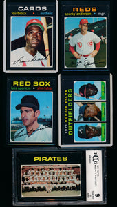 1971 Topps Complete Set Group Break