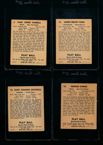 1941 Play Ball Complete Set Group Break (Limit 7)
