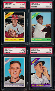 Post-WWII Graded Mega Mixer featuring a 1952 Bowman Mantle and 1952 Topps Mays (Limit 15)