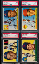 Load image into Gallery viewer, Post-WWII Graded Mega Mixer featuring a 1952 Bowman Mantle and 1952 Topps Mays (Limit 15)