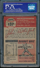Load image into Gallery viewer, 1953 Topps  137 John Rutherford  PSA 5 EX 14181
