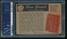 Load image into Gallery viewer, 1955 Bowman  203 Steve Gromek  PSA 7 NM 14206