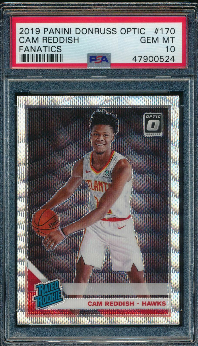 2019-20 Donruss Optic 170 Cam Reddish Fanatics RC PSA 10 GEM MINT 14891