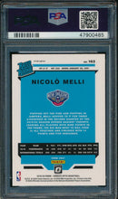 Load image into Gallery viewer, 2019-20 Donruss Optic 163 Nicolo Melli Holo RC PSA 10 GEM MINT 14885