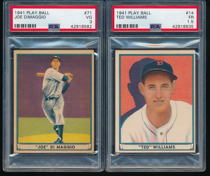 1941 Play Ball Complete Set Group Break #6 (Limit 7)