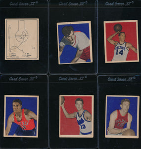 1948 Bowman Basketball Complete Set - George Mikan PSA 4