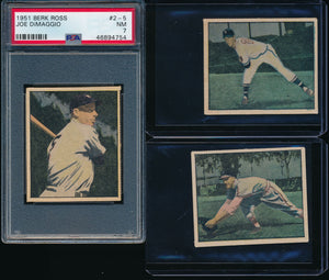 1951 Berk Ross Baseball Group Set Break #1 (40 total cards, LIMIT 5)
