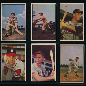 1953 Bowman Color Baseball Complete Set Group Break