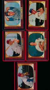1955 Bowman Baseball Complete Set Group Break