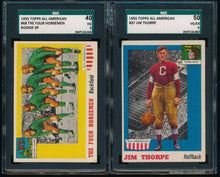 Load image into Gallery viewer, 1955 Topps All American Football SGC Complete Set Group Break (LIMIT 3)