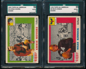 1955 Topps All American Football SGC Complete Set Group Break (LIMIT 3)