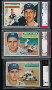 1956 Topps Complete Set Group Break #8