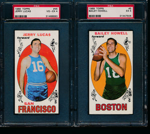 1969-70 Topps Basketball Complete Set Break