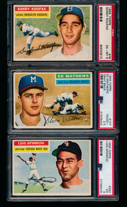 1956 Topps Complete Set Break 6