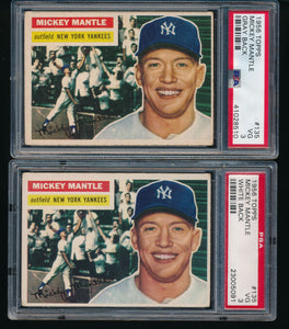 1956 Topps Baseball Complete Set Group Break #9
