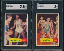 Load image into Gallery viewer, 1957 Topps Basketball Complete Set Break