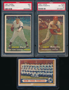 1957 Topps Baseball Complete Set Group Break #8 Low-to-Mid Grade