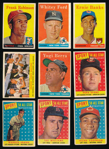 1958 Topps Baseball Complete Set Group Break #4
