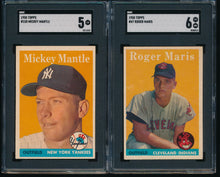 Load image into Gallery viewer, 1958 Topps Baseball Complete Set Group Break #5