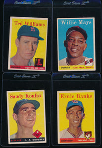 1958 Topps Baseball Complete Set Group Break #5